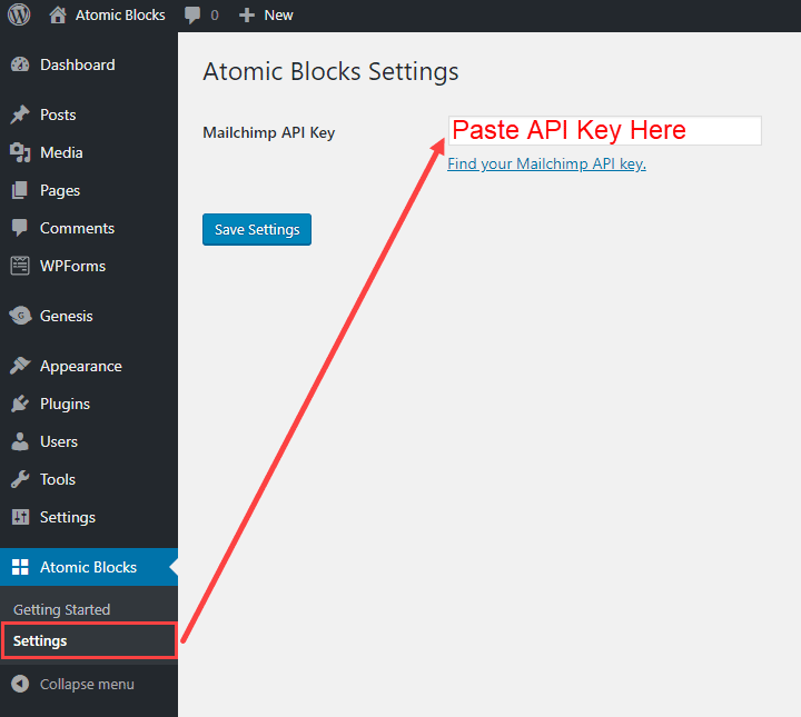 This Atomic Blocks tip is for Mailchimp users, does that include you?